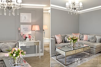 HOW TO DESIGN AN INTERIOR IN THE GLAMOR STYLE - METAMORPHOSIS OF THE APARTMENT - EFFECT BEFORE AND AFTER