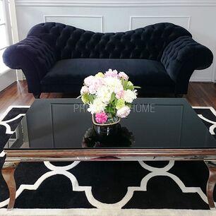 Sofa pikowana glamour ROMA