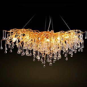Żyrandol, lampa sufitowa glamour , lampa wisząca nowoczesna