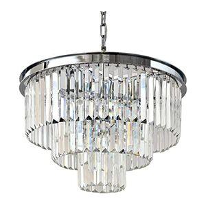 Żyrandol kryształowy glamour