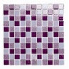 Glass mosaic with glitter FIOLET MIX VANESA