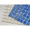 ANTYPOŚLIZGOWA  Niebieska Mozaika Szklana Niebla