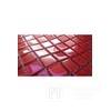 Mozaika Szklana z brokatem CZERWONA Julia