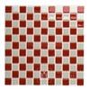 Mosaic Red Glass White Antonina