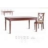 Classic wooden table with Lilith unfolding function