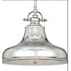 MARY M - Lampa wisząca srebrna -  chrom nikiel