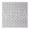GEOMETRIC RESOURCE New York style geometric wallpaper American style WHITE GREY SILVER SILVER