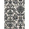 DAMASK RESOURCE New Yorker Stil Geometrische Tapete Amerikanischer Stil weiß grau schwarz blau grün braun