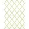 GRAPHIC RESOURCE Geometric wallpaper in New York style English American clover White & Blue Gray