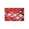 Diamond glass mosaic Red Kristina