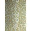 DAMASK RESOURCE New Yorker Stil Geometrische Tapete Amerikanischer Stil GELB WEISS Schwarz Grau Gold Braun