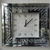 Zegar ścienny lustrzany kwadratowy