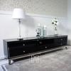 Glamour high-gloss black Lorenzo L Silver RTV C64