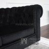 AVIATOR Sofa without mirrors black PROMOTION