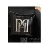 Cushion 50x50 with logo in Emerald fabric black