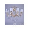 New York glamour crystal chandelier MARIA TERESA S Gold