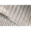 Żyrandol srebrny lampa wiszącaz owalnymi kloszami w stylu glamour okrągły Majestic M