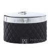 Cotton swab container black Portia jar black Lene Bjerre