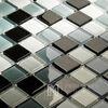 Glass mosaic Gray White Black Arabella