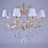 New York glamour crystal chandelier MARIA TERESA S Gold