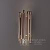 Kinkiet złoty lampa ścienna miedź nowoczesny w stylu galmour Ponsacco