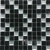Stone and Glass Mosaic MAR 03 Black Diamond