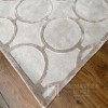 A modern style rug with a convex pattern for a bright glamor living room EVANS