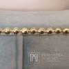 Łóżko nowojorskie glamour tapicerowane nowoczesne APOLLO OUTLET