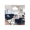 Modern glamour upholstered sofa with PRADA bedroom function