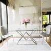 Glamour table CONRAD SILVER
