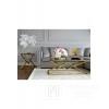 New Yorker Glamour-Beistelltisch, seitlicher Edelstahlgold CONRAD MINI OUTLET