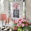Luxurious picture in a mirror frame modern New York COCO CHANNEL