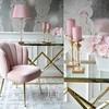 2.Moderne Glamour Konsole Edelstahl Glas Gold CONRAD