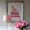 Obraz w lustrzanej ramie nowoczesny stylowy nowojorski  5 90x70