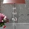 Stylish modern floor lamp with balls, silver baseTRIO