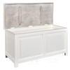 Chest of drawers hampton, Provencal white, Bristol