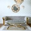 New York glamour sofa modern AVIATOR GOLD