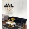 New York glamour chandelier MARIA TERESA M Gold