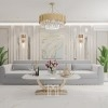 Coffee table for the ART DECO salon gold OUTLET