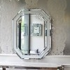 Aesthetic mirror RARE SILVER glamor 100x80 OUTLET