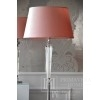 Floor lamp glamor crystal stylish modern silver base TRINITY