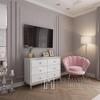Glamour-Sessel SHELL New Yorker  für den Flur Schlafdiele Pink