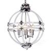Posinato lampa wisząca świecznikowa rustykalna na łańcuchu