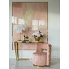 Upholstered armchair New York style modern classic modern ADELE