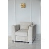 Upholstered armchair with diamonds COMFORT