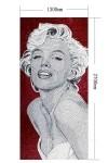 Glass mosaic Marilyn Monroe