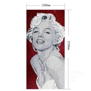 Glasmosaik Marilyn Monroe