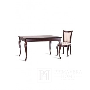 Classic wooden table with folding function Flora