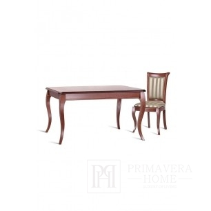 Classic wooden table with folding function Lilly