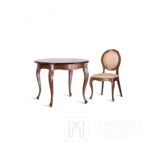 Classic wooden table with folding function Grace